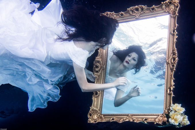 Laurel by Neverdullphotography - The Face in the Mirror Photo Contest