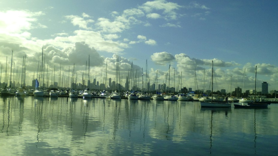 I took this photo behind St Kilda Pier down in the nature reserve.