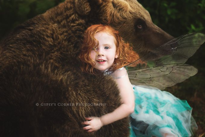 Bearhug by tamnelson - Fairytale Moments Photo Contest
