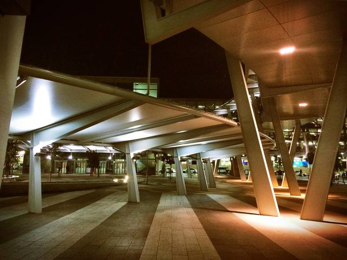 early morning airport  by sydneywarmer - Public Transport Hubs Photo Contest