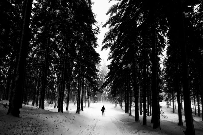 Alone by MichalCandrak - People In Large Areas Photo Contest