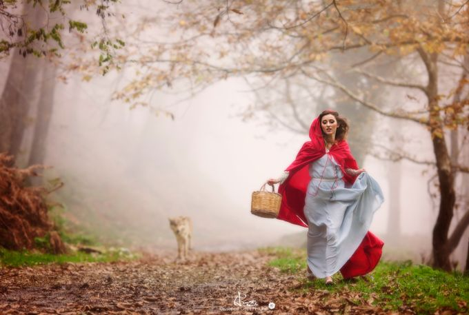 Sweet Escape (Little Red Riding Hood) by Giuseppe_Geps_Pintaudi - Fairytale Moments Photo Contest