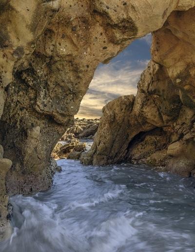 Arches Cove . . .