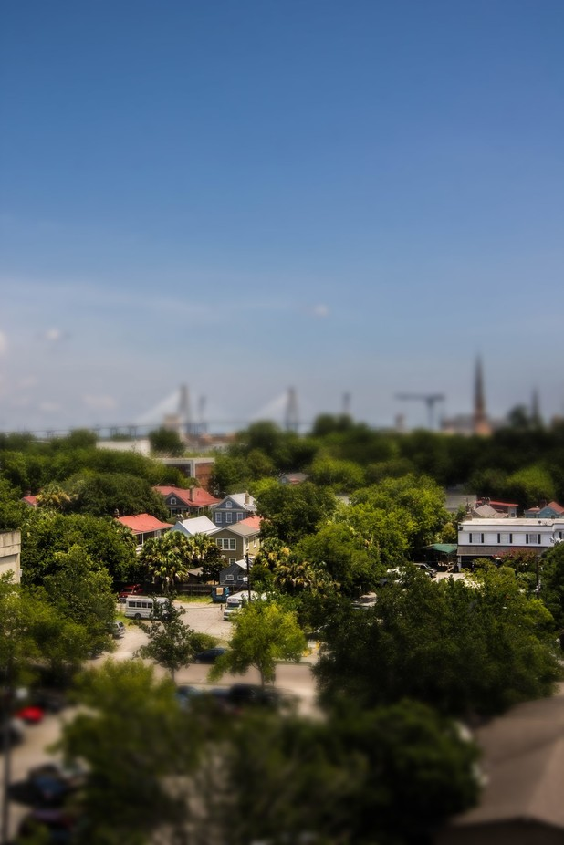 Charleston by aprillewis - TiltShift Effect Photo Contest