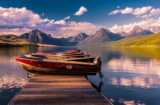 Lake MacDonald 06-28-16 2 (1004) by Glgracephoto - I Love Boats Photo Contest