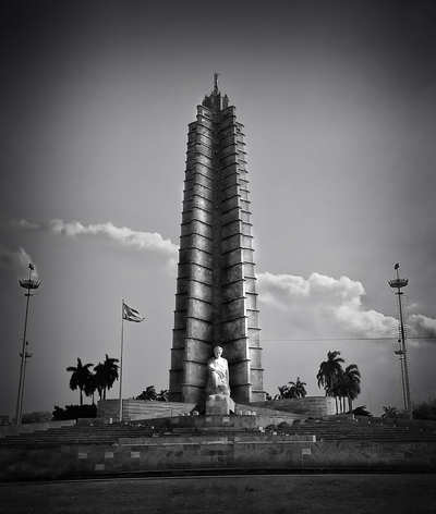 tower in B & W