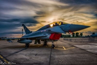 Typhoon Sunset