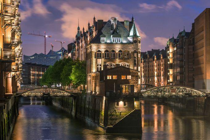 Speicherstadt / Hamburg by SebastianWarneke - City Sunsets Photo Contest