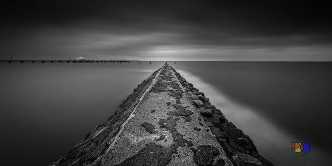 Grey Dawn  by PDO1962 - Black And White Landscapes Photo Contest
