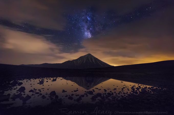 Veiled Gallaxy by raminata - Nature And The Night Photo Contest