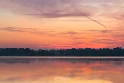 Colorful Twilight Reindersmeer