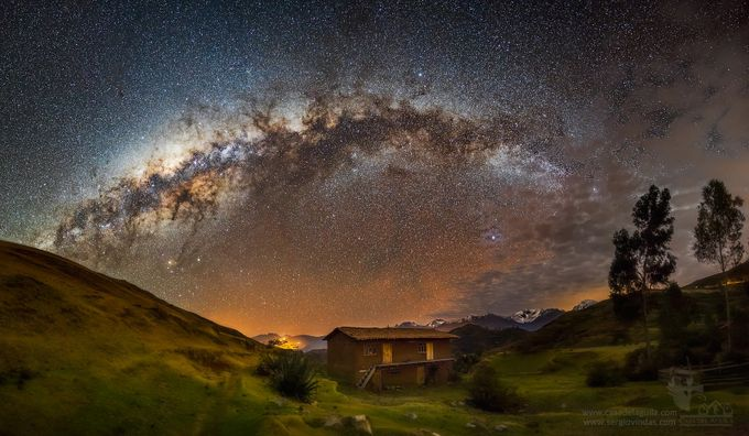 The Milkyway over Chonta. Cusco, Perú by sergiovindas - Creative Travels Photo Contest
