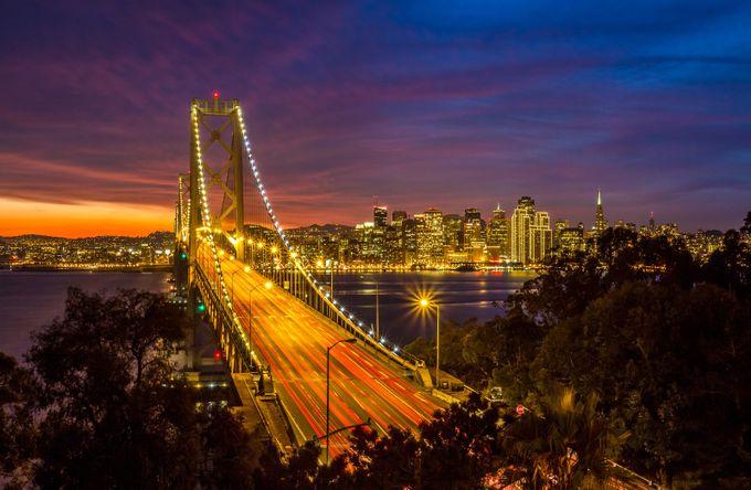 San Francisco Bay Bridge by PierreLeclercPhotography - City Views Photo Contest