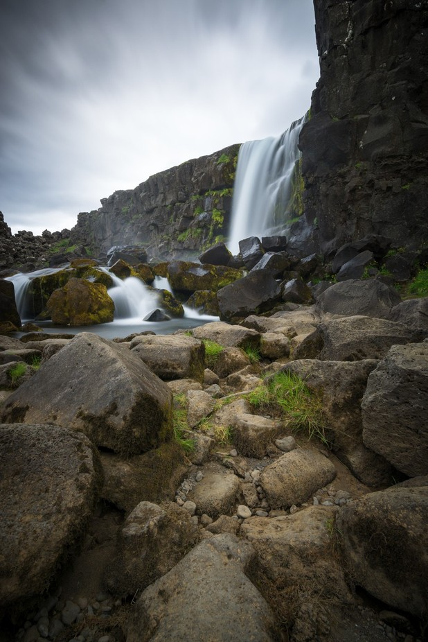 Thingvellir Waterfall by PF-pics - Around the World Photo Contest By Discovery