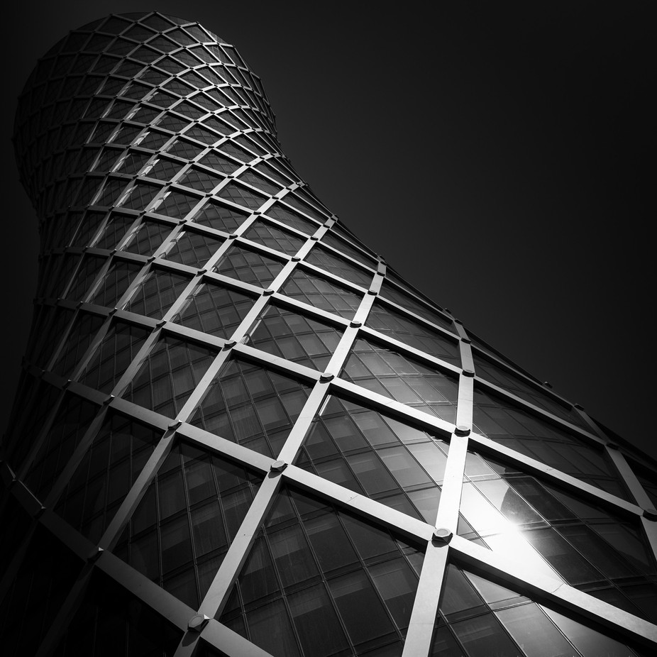 Tornado Tower - Doha by michiel-dl - Black And White Architecture Photo Contest