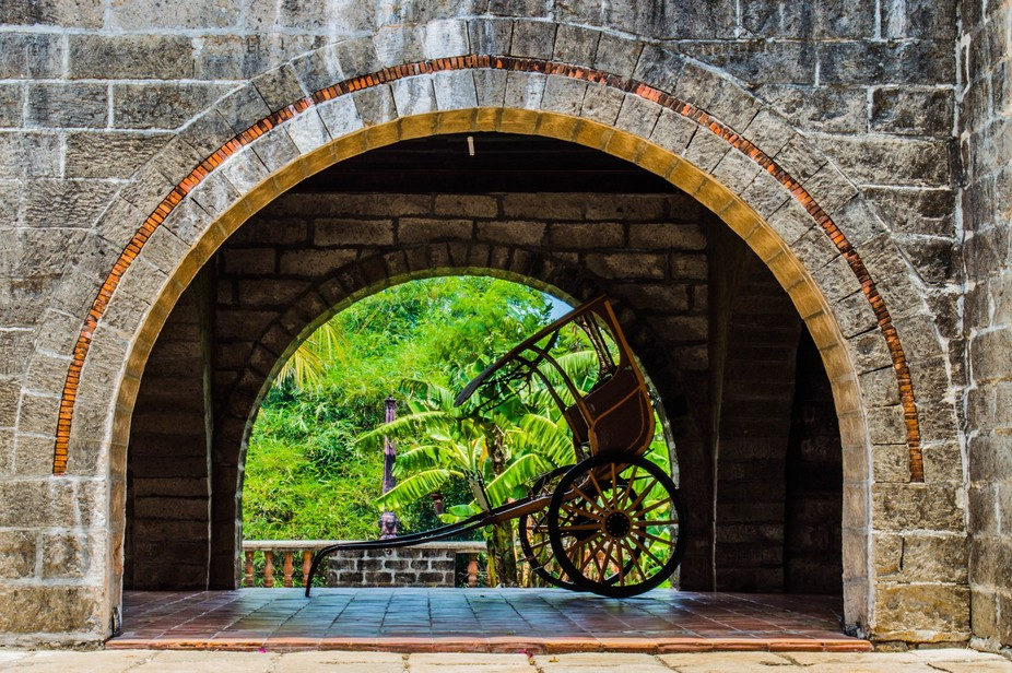 A transport used by noble during the Spanish reign in the Philippines. It is now used by tourist ...