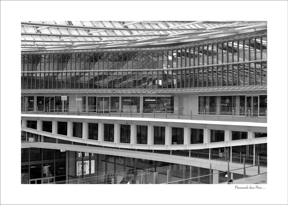The new architecture in the center area of Paris - Les Halles