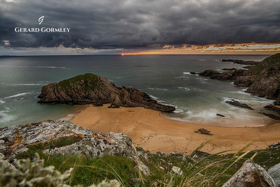 At Melmore Point on the Rosguill Peninsula in Co Donegal lies this little known beach, Boyeeghter...