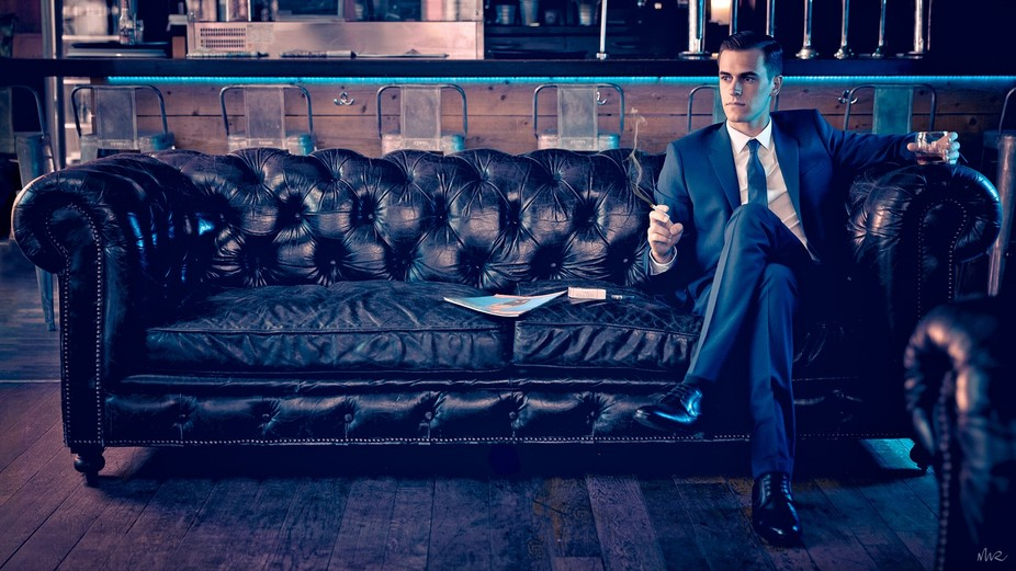 """Here is the first shot of a photos series, this series is a """"Mad Men"""" TV show t..."""