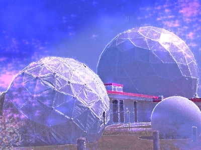 Space Station Domes