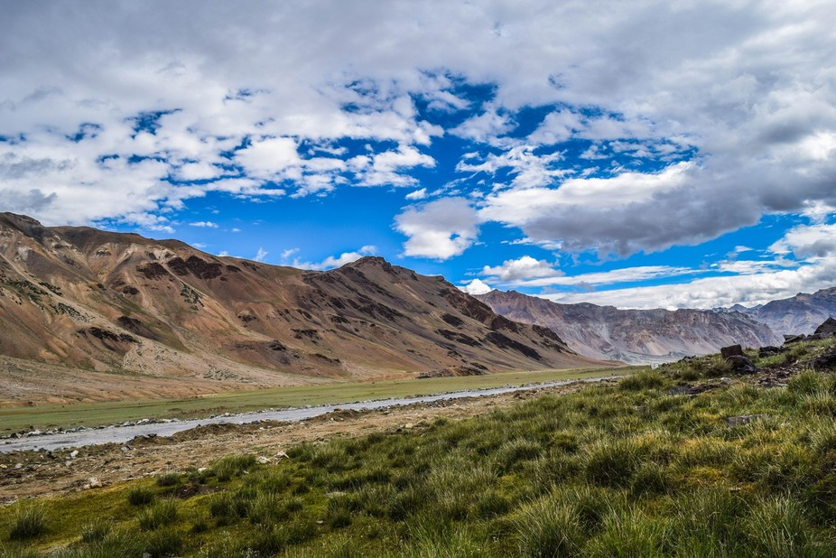 the road to leh...