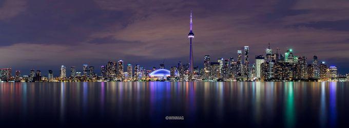 Toronto Skyline by winmagsino - City Views Photo Contest