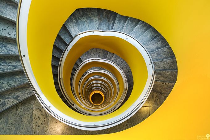 Yellow swirl by flomotionfotografie - High Vantage Points Photo Contest