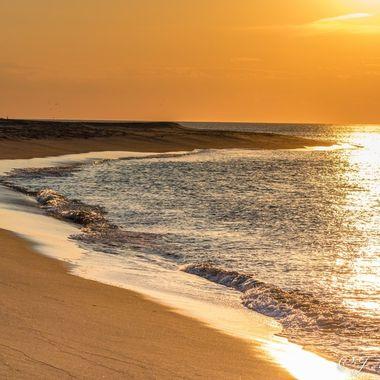 Sunset on Provincetown's National Seashore