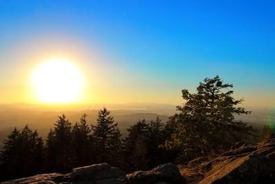 Sunset Over Oregon V2