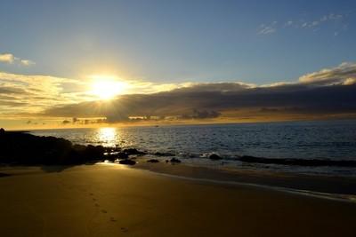 Sunrise in  Spain-Puerto Del Carmen