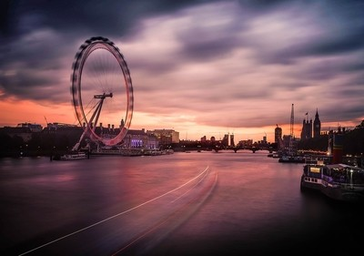 THE EYE on the River Thames