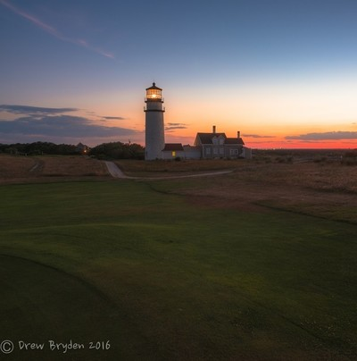 Dusk at Highland Light