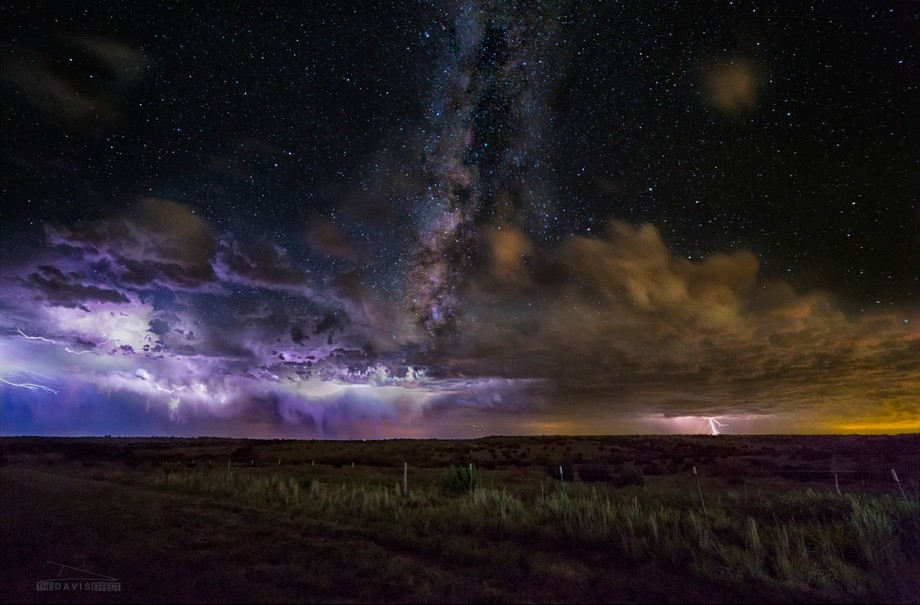 While in Amarillo, Texas, I was set up for some storm chasing, when a few breaks in the clouds al...