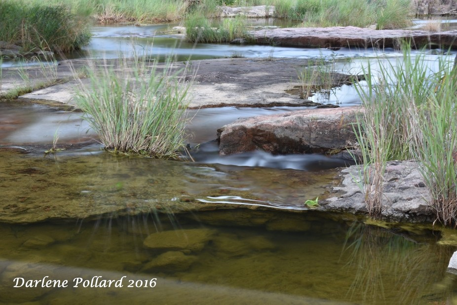 I had to get a shot of this creek when I saw water moving over the granite outcroppings in one of...