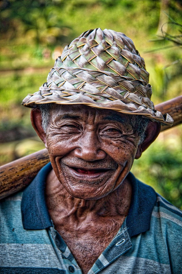 Face of Bali Color by alistairhunt - All Smiles Photo Contest