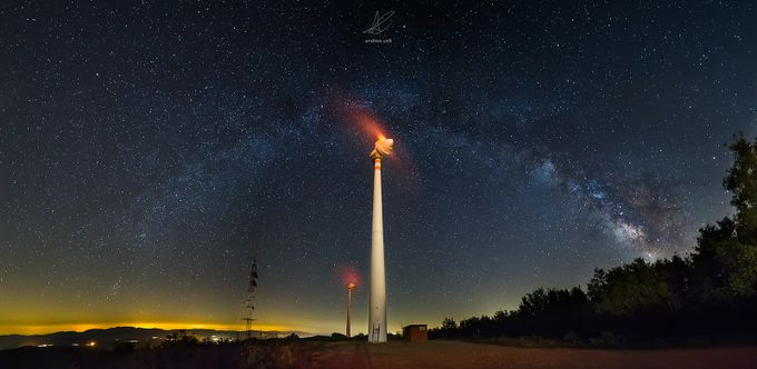 Space energy panorama by andreacelli - Fish Eye And Wide Angle Photo Contest