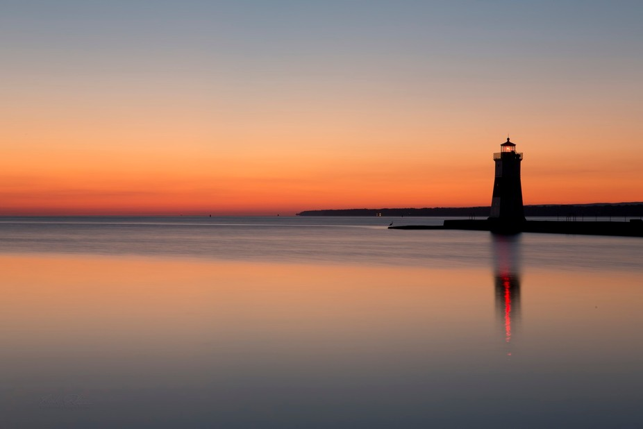 This was taken at Presque Isle State Park - Erie, PA. A very peaceful morning.