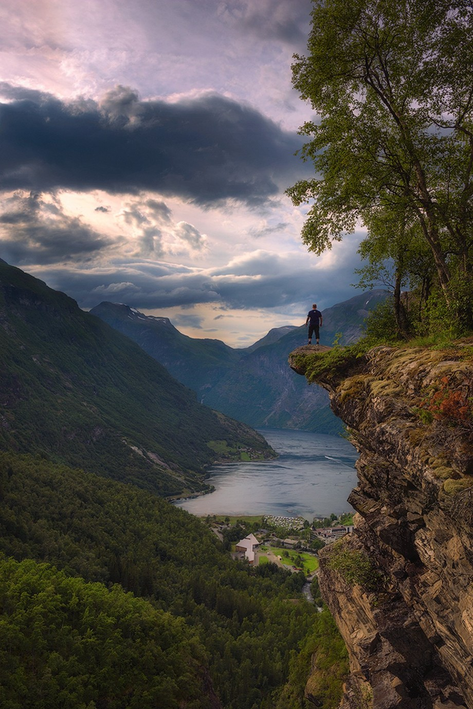 Flydalsjuvet by Tor-Ivar - People In Large Areas Photo Contest