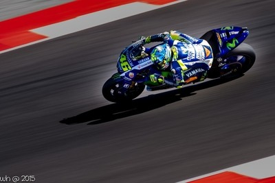 Valentino Rossi at Misano