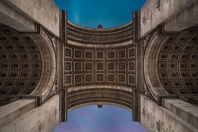 Arc de Triomphe by JeffAlexander - City Of Love Photo Contest