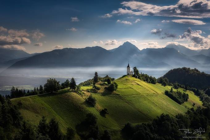 When the sun plays by saintek - Sweeping Landscapes Photo Contest