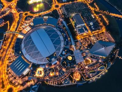 Singapore National Stadium Topview