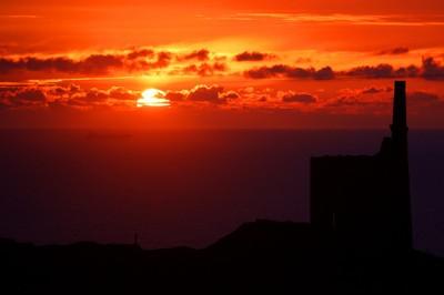 Poldark Sunset