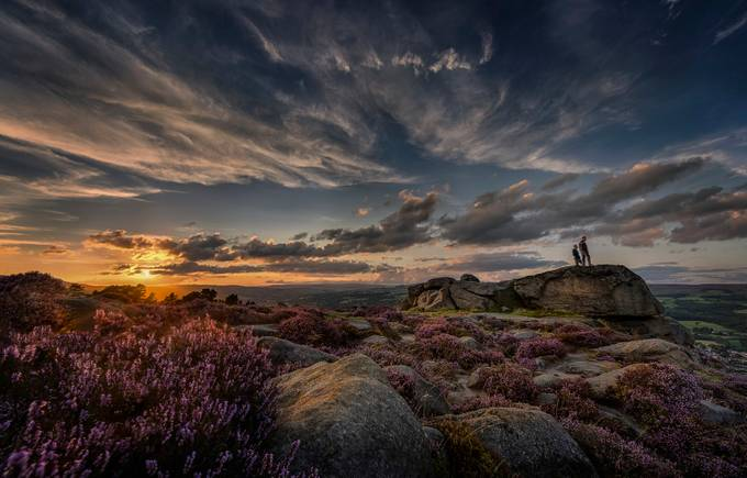 Sunset_Ilkley_Moor_West_Yorkshire_UK_13 by gilesrrocholl - Sweeping Landscapes Photo Contest