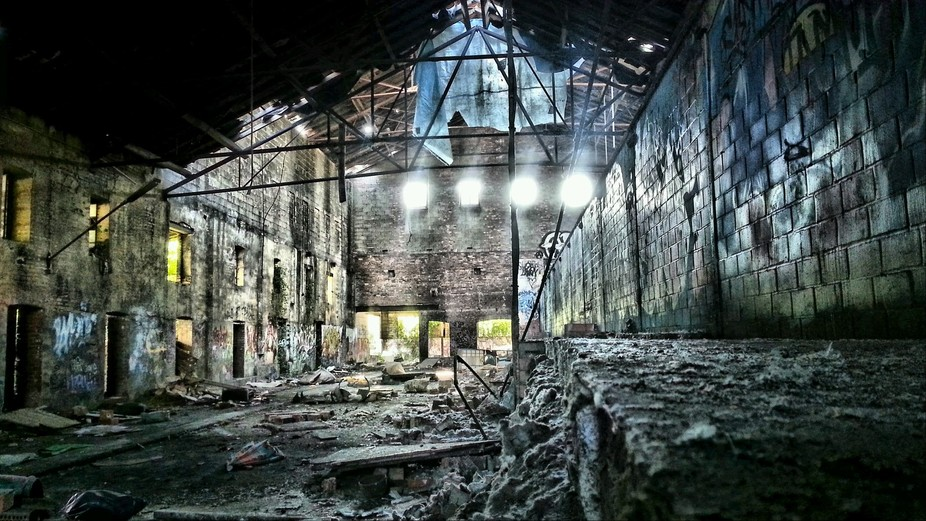 Picture of an abandoned factory