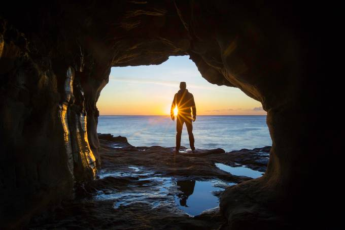 cave dweller by Gareth_Carr - Within A Frame Photo Contest
