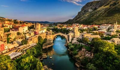 Mostar Cityscape