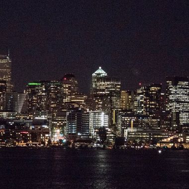 Seattle Skyline From Lake Union