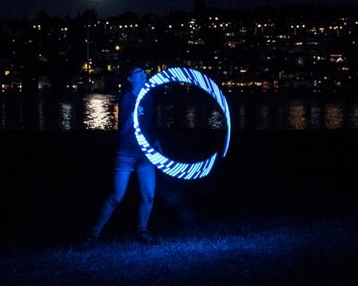 Hooping in Moonlight