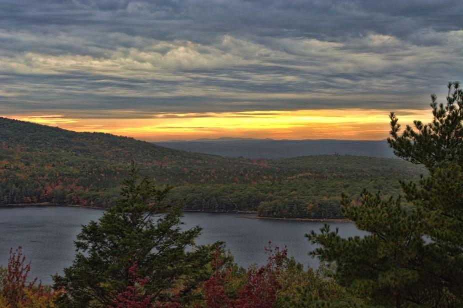 Sunset at Acadia National Park